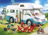 PLAYMOBIL Family Fun 70088 Caravane et vacanciers-Image 1