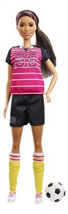 Barbie mannequinpop Careers Voetballer-Vooraanzicht