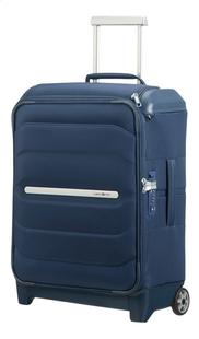 Samsonite valise souple Flux Soft Upright Navy Blue 55 cm-Côté droit