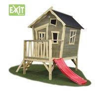 EXIT houten speelhuisje Crooky 300-Rechterzijde