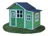 EXIT houten speelhuisje Loft 150 groen-Rechterzijde