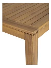Table de jardin à rallonge Madrid L 160 x Lg 90 cm-Détail de l'article
