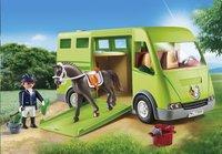 PLAYMOBIL Country 6928 Cavalier avec van et cheval-Image 1