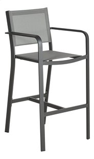 Ocean chaise de bar haute Anzio charcoal