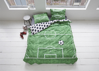 Covers & Co Housse de couette Soccer coton 200 x 220 cm