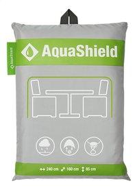 AquaShield housse de protection pour ensemble de jardin en polyester L 240 x Lg 160 x H 85 cm-Avant