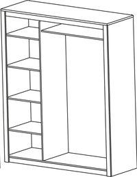 Garde-robe 3 portes Thibo-Détail de l'article