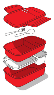 Mustard lunchbox Fridge Box-Détail de l'article