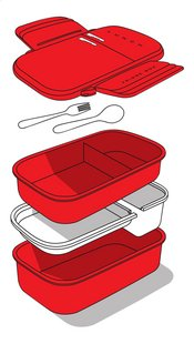 Mustard lunchbox Fridge Box-Artikeldetail
