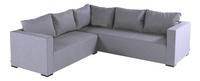 Hartman fauteuil d'angle Oliver gris-Avant