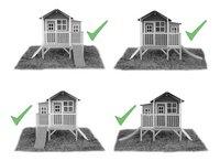 EXIT maisonnette en bois Loft 350 naturel-Détail de l'article