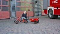 EXIT gocart Foxy Fire + aanhangwagen-Afbeelding 1
