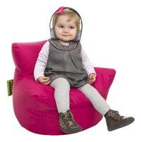 Pouf fauteuil petit fuchsia-Image 1