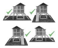 EXIT houten speelhuisje Loft 550 groen-Artikeldetail
