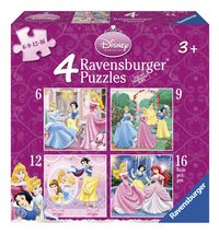 Ravensburger 4-in-1 meegroeipuzzel Disney princess