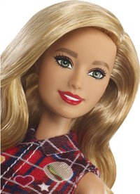 Barbie mannequinpop Fashionistas Original 113 - Patched Plaid-Artikeldetail