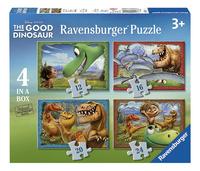 Ravensburger meegroeipuzzel 4-in-1 The Good Dinosaur