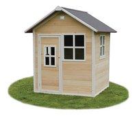 EXIT houten speelhuisje Loft 100 naturel-Vooraanzicht