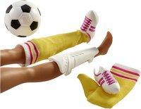 Barbie poupée mannequin  Careers Joueuse de foot-Détail de l'article