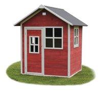 EXIT houten speelhuisje Loft 100 rood