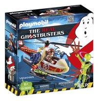 PLAYMOBIL Ghostbusters 9385 Venkman avec hélicoptère-Côté gauche
