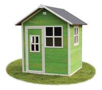 EXIT houten speelhuisje Loft 100 groen