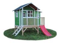 EXIT houten speelhuisje Loft 350 groen