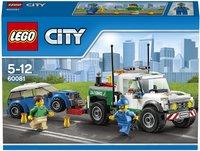 LEGO City 60081 De pick-up-sleepwagen-Vooraanzicht