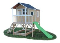 EXIT maisonnette en bois Loft 550 naturel-Avant