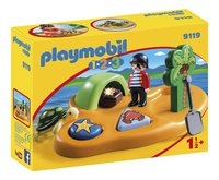 Playmobil 1.2.3 9119 Île de pirates