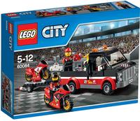 LEGO City 60084 Le transport de motos de course