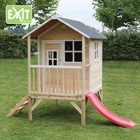 EXIT houten speelhuisje Loft 300 naturel-Afbeelding 1
