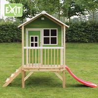 EXIT maisonnette en bois Loft 300 vert-Image 1
