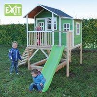 EXIT houten speelhuisje Loft 550 groen-Afbeelding 1