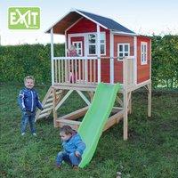 EXIT houten speelhuisje Loft 550 rood-Afbeelding 1