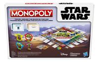 Monopoly bordspel Star Wars Mandalorian The Child-Achteraanzicht
