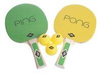 Set de ping-pong-commercieel beeld