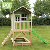 EXIT maisonnette en bois Loft 500 vert-Image 2
