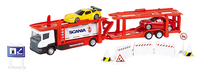DreamLand autotransport Scania rood