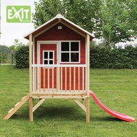 EXIT maisonnette en bois Loft 300 rouge-Image 3