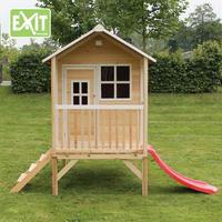 EXIT houten speelhuisje Loft 300 naturel-Afbeelding 3