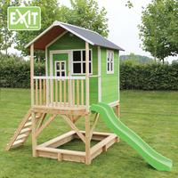EXIT houten speelhuisje Loft 500 groen-Afbeelding 3