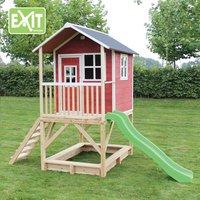EXIT houten speelhuisje Loft 500 rood-Afbeelding 3