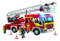 PLAYMOBIL City Action 5362 Camion de pompier avec échelle pivotante et sirène-Avant