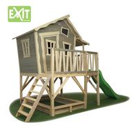 EXIT houten speelhuisje Crooky 550-Linkerzijde