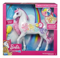 Barbie Dreamtopia Brush'n Sparkle unicorn-Vooraanzicht
