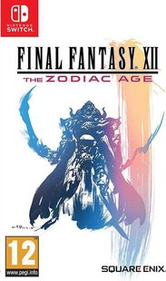 Switch Final Fantasy XII Zodiac Age FR/ANG-Avant