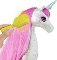 Barbie Dreamtopia Brush'n Sparkle unicorn-Afbeelding 2