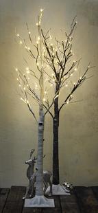 Arbre lumineux LED blanc chaud-Image 2