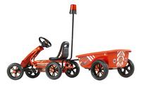 EXIT gocart Foxy Fire + aanhangwagen-Achteraanzicht
